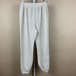 Misguided Teddy Sherpa Joggers Sweatpants
